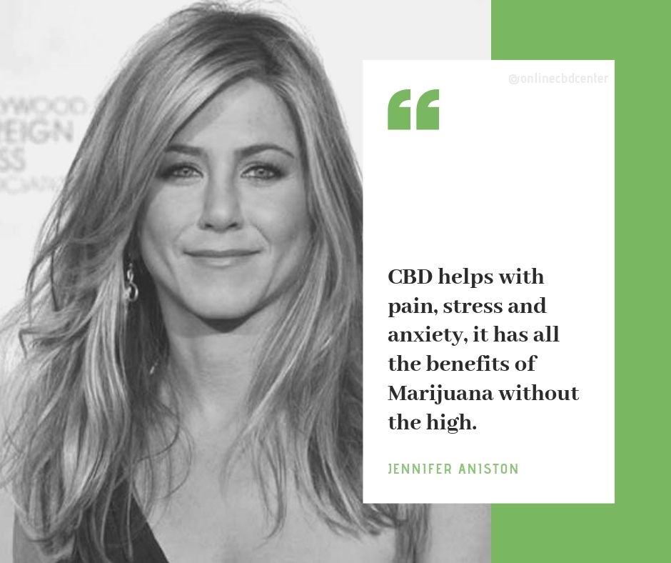 Jennifer Aniston CBD Oil